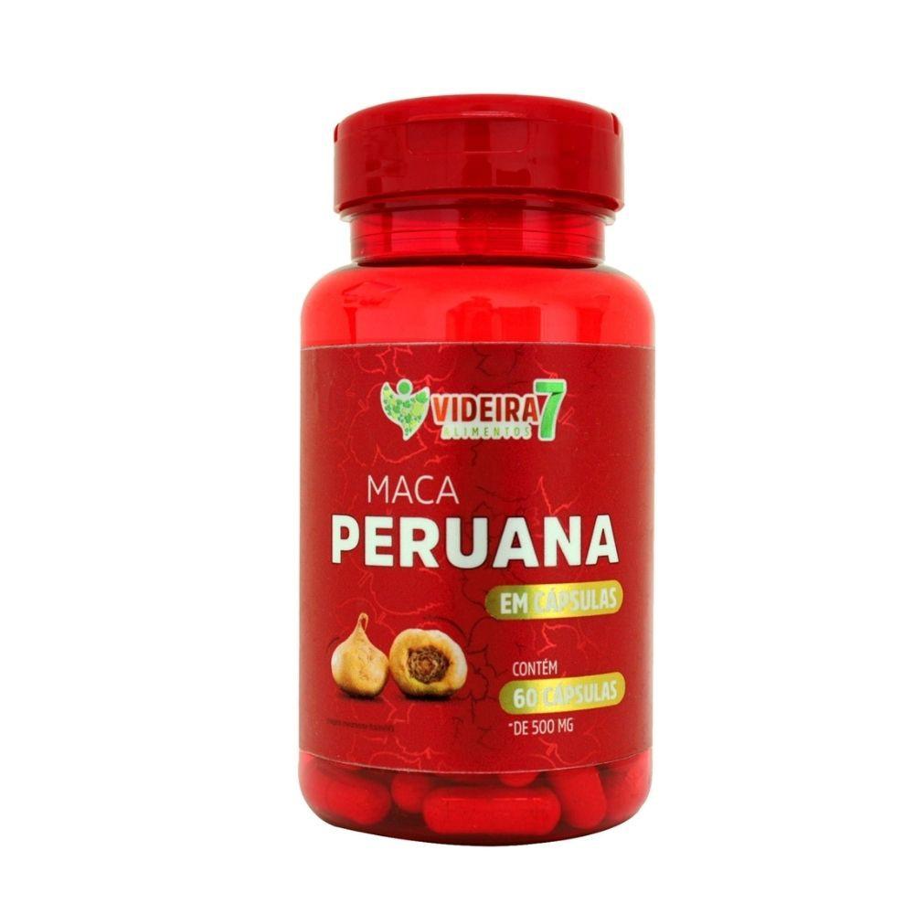 Maca Peruana - 60 Cáps - Videira 7