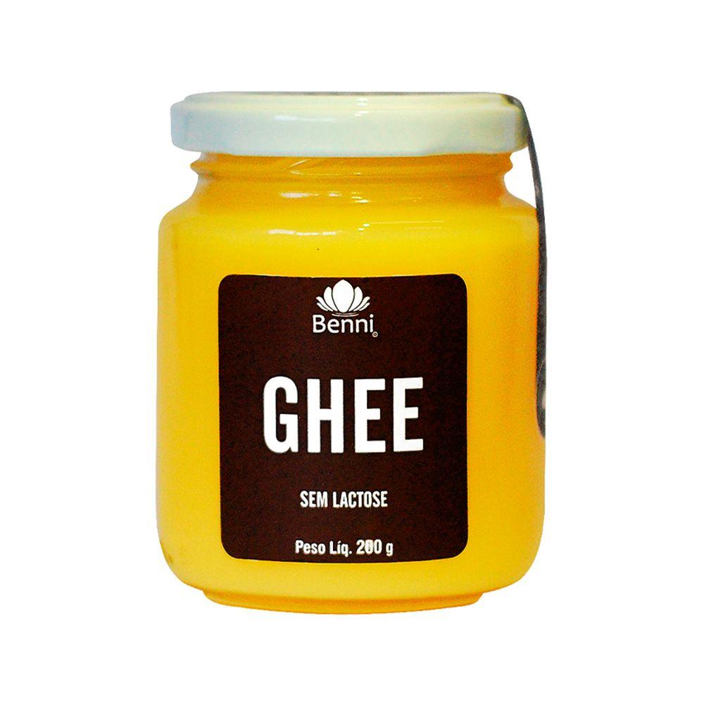Manteiga GHEE Tradicional - 200g - Benni