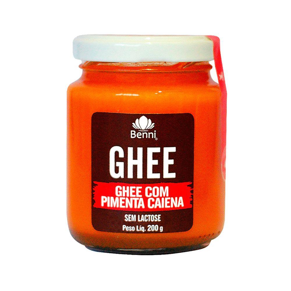 Manteiga GHEE com Pimenta Caiena - 200g - Benni