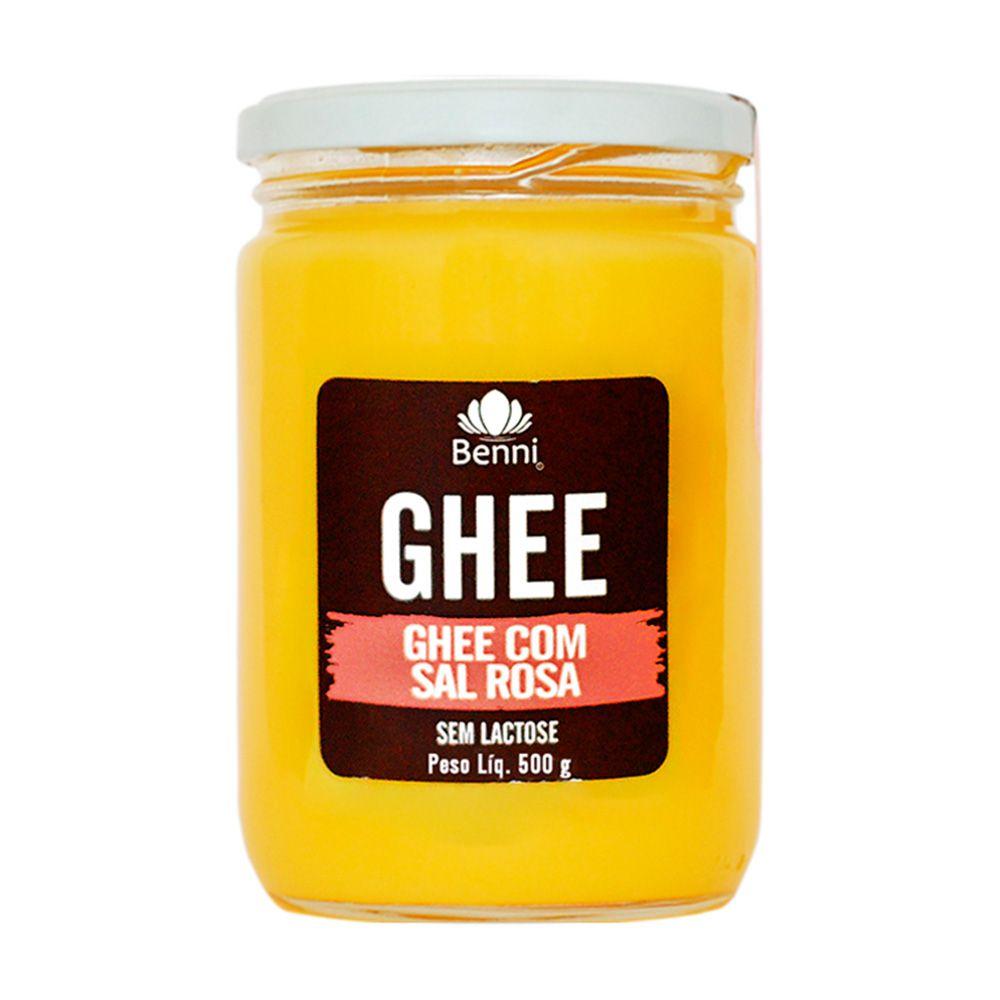 Manteiga GHEE com Sal Rosa Himalaia 500g - Benni