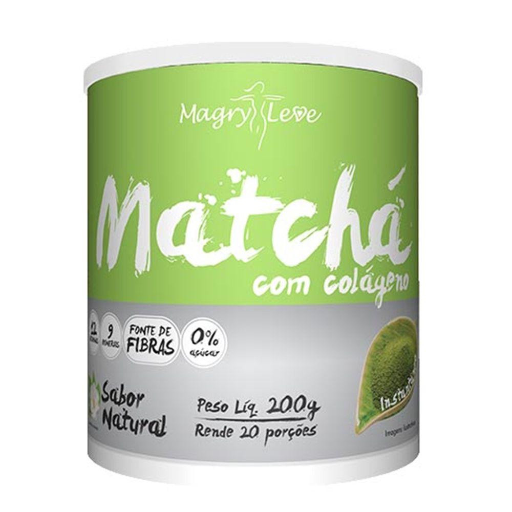Matchá Com Colágeno - 200g - Apisnutri