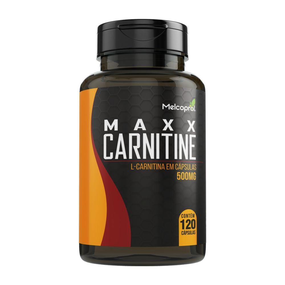 Maxx Carnitine - 120 Cáps. - 500 mg - Melcoprol