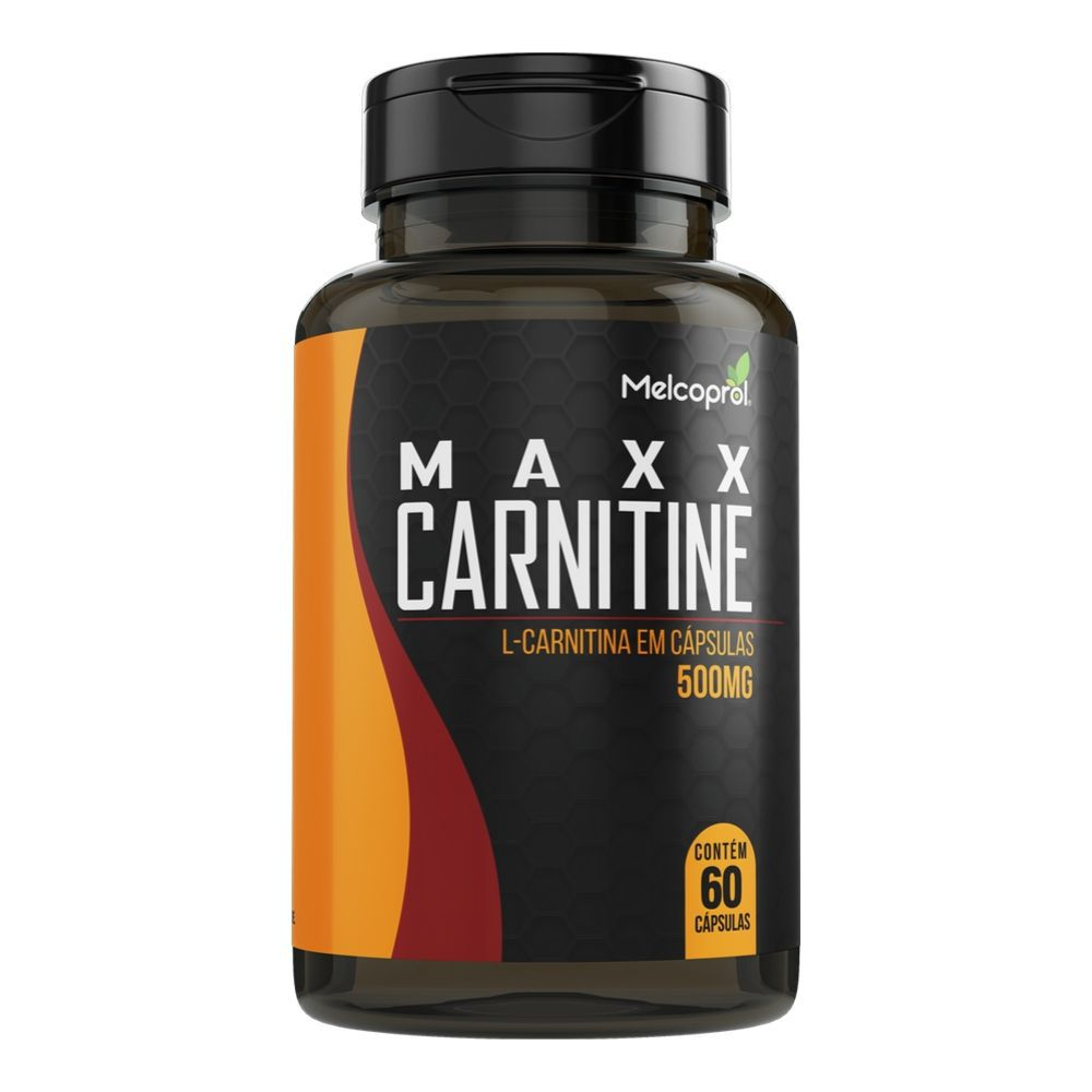 Maxx Carnitine - 60 Cáps. - 500 mg - Melcoprol