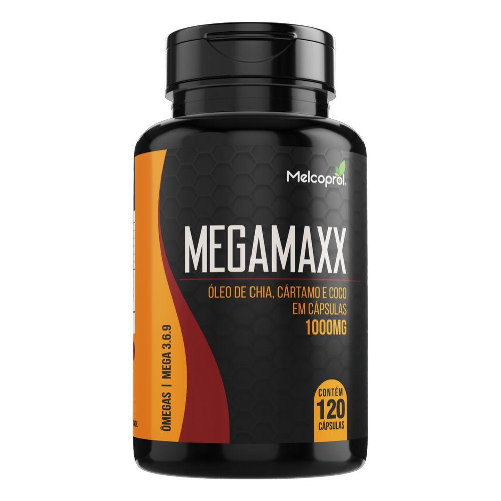 Mega Maxx Chia Cart Coco - 60 Cáps. - 1000mg - Melcoprol