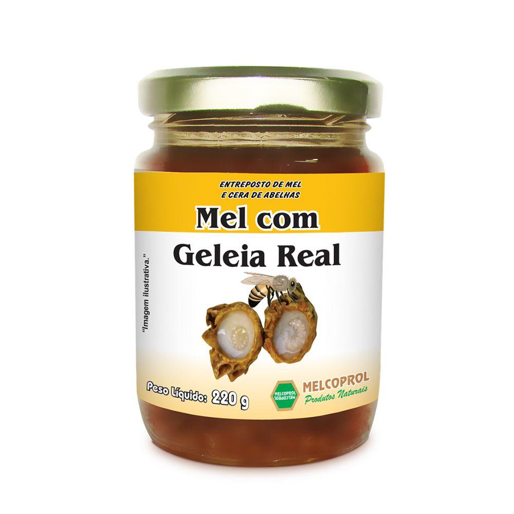 Mel com Geleia Real - 220g - Melcoprol