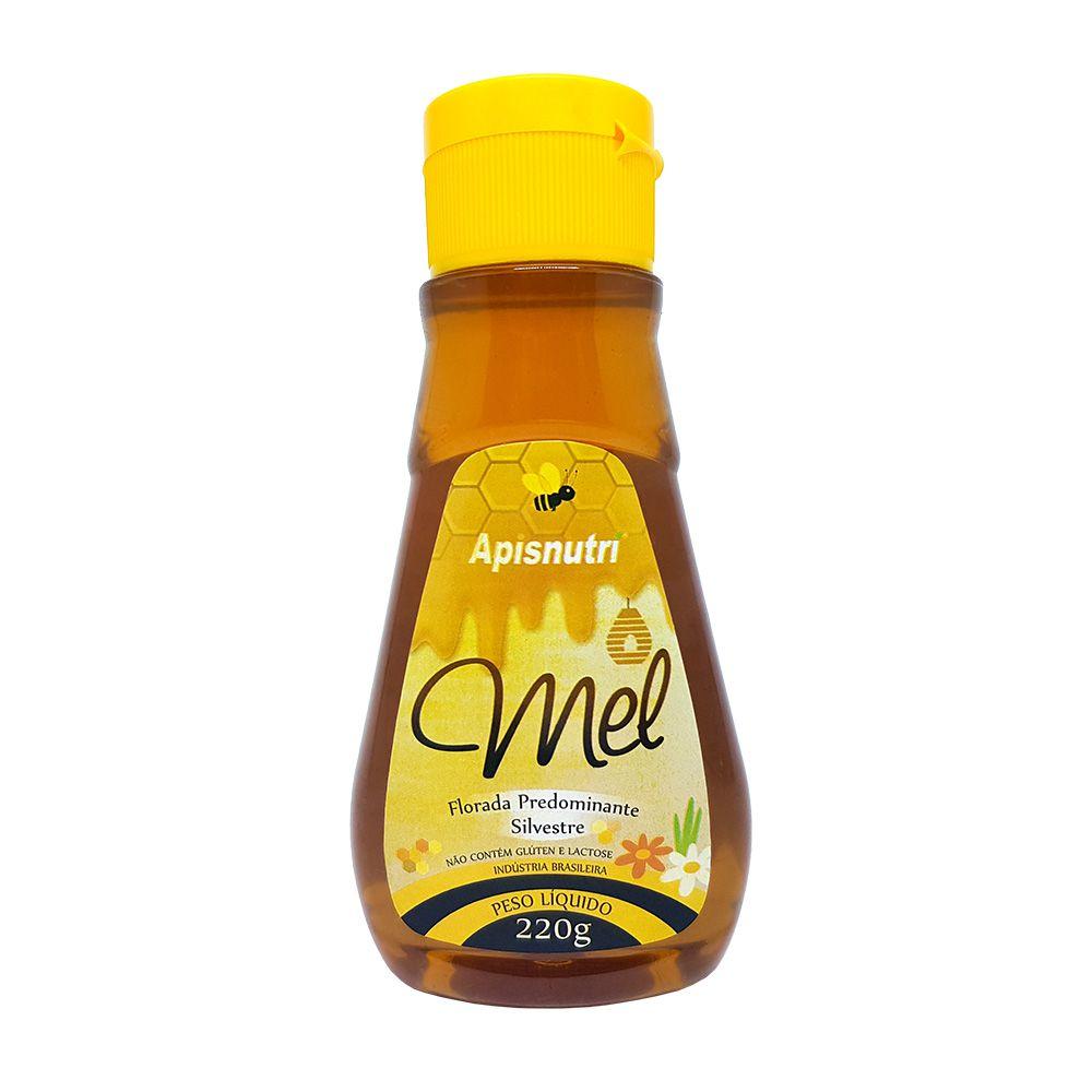Mel Puro - Florada Silvestre - Bisnaga 220g - Apisnutri