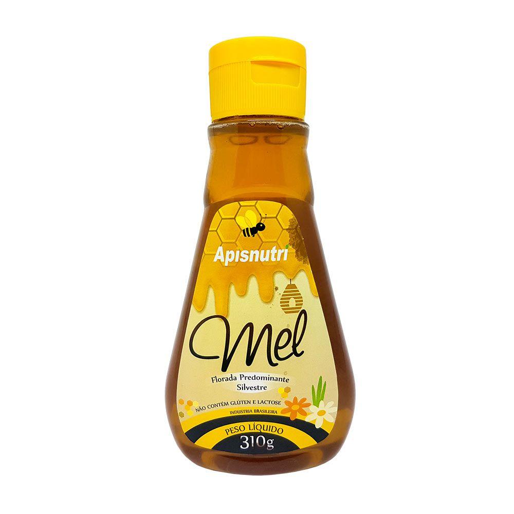 Mel Puro - Florada Silvestre - Bisnaga 310g - Apisnutri