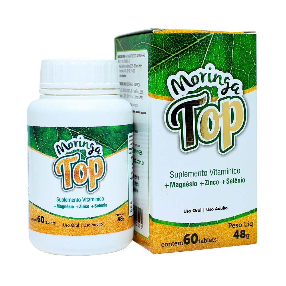 Moringa Top - 60 Tablets - God Green