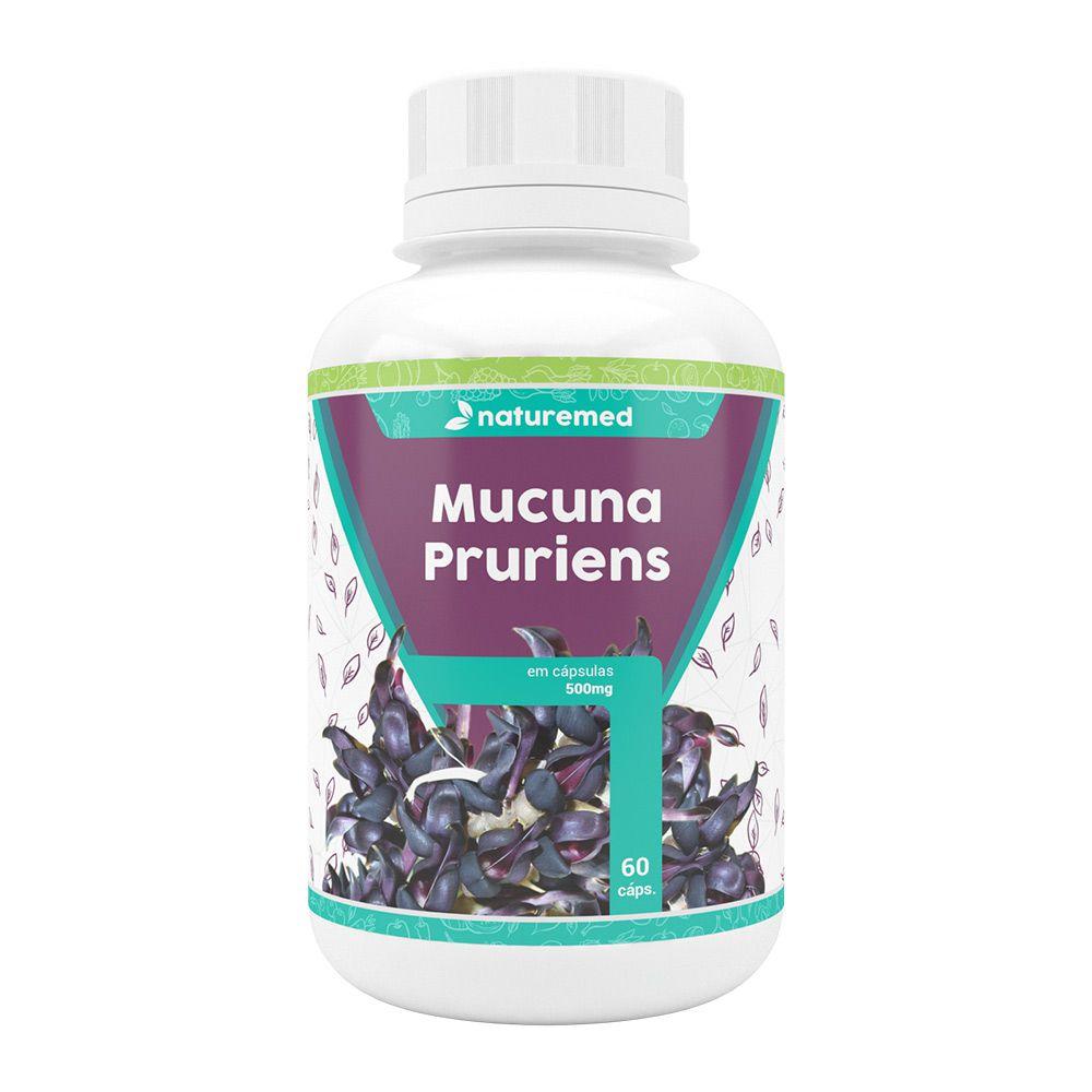 Mucuna Pruriens - 60 cáps - 500mg