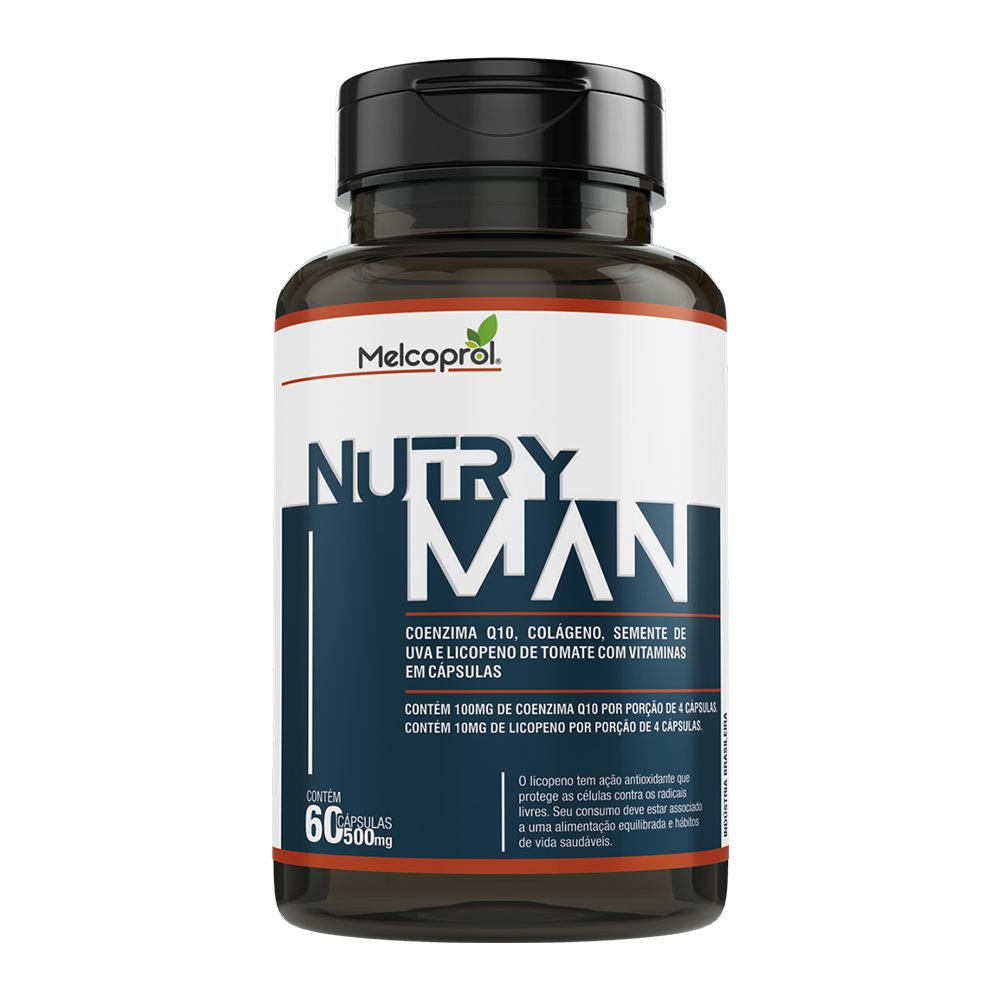 Nutry Man - 60 Cáps. - 500mg - Melcoprol