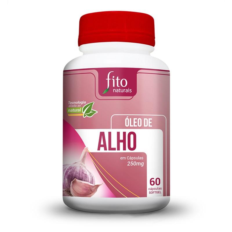 Óleo de Alho - 60 Cápsulas - Fito Naturais