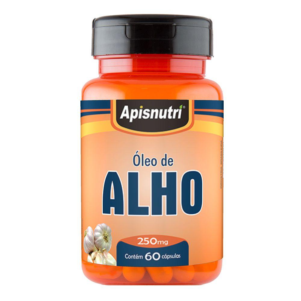 Óleo de Alho - 60 Cáps. - 250mg