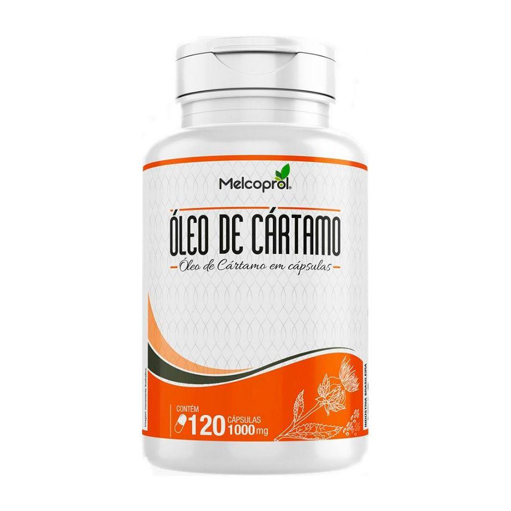 Óleo de Cártamo - 120 Cáps. - 1000mg - Melcoprol