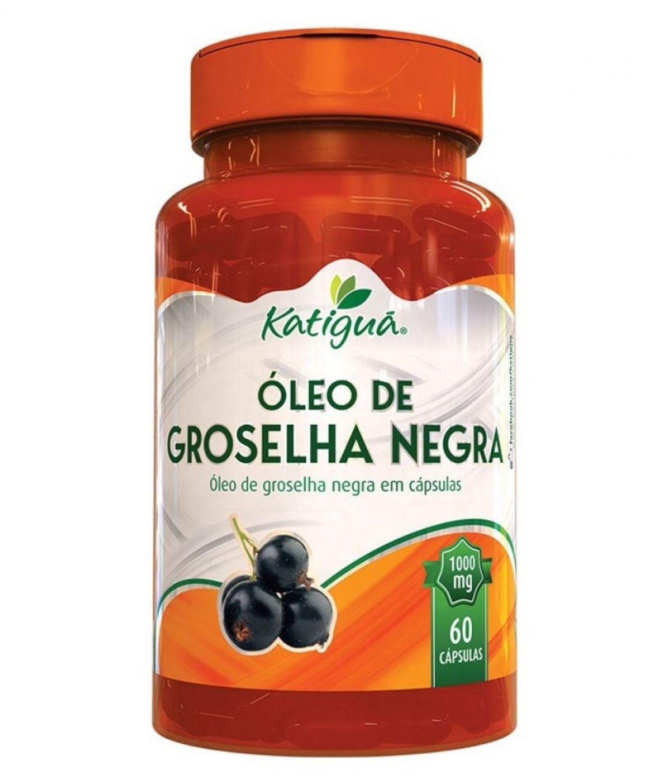 Óleo de Groselha Negra - 60 Cápsulas - katiguá