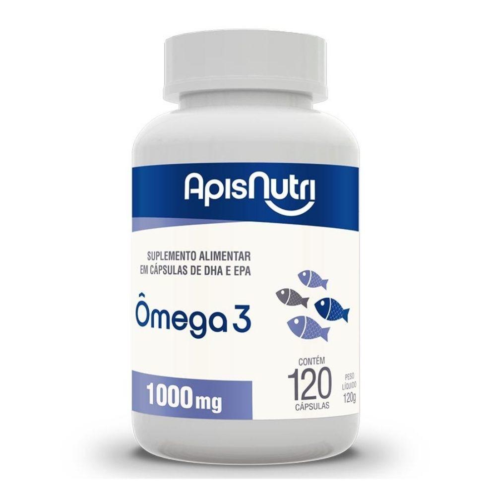 Ômega 3 - 120 Cápsulas - Apisnutri