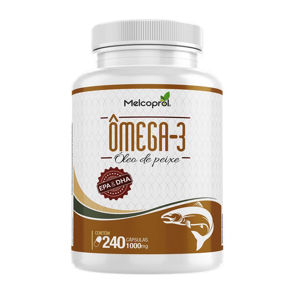 Ômega 3 - 240 Cápsulas - Melcoprol