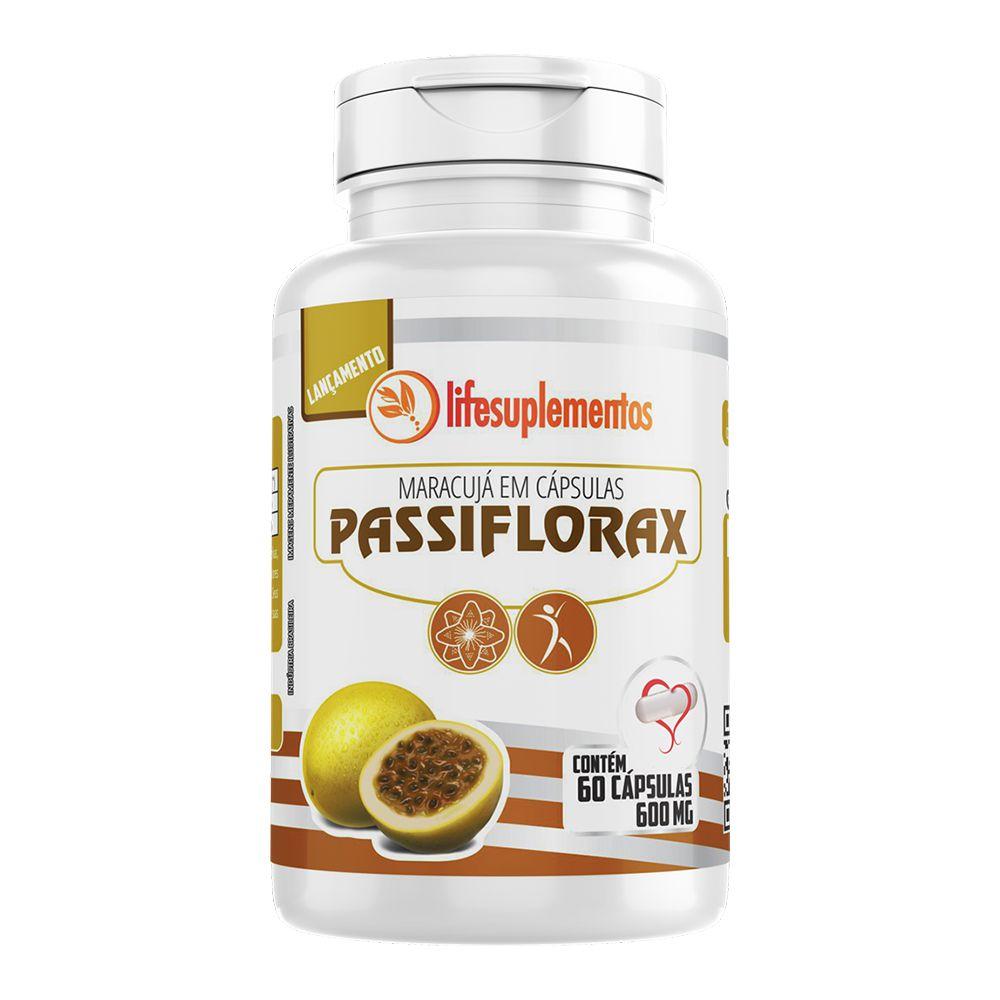 Passiflorax - Maracujá - 60 Cáps - 600mg - Melcoprol
