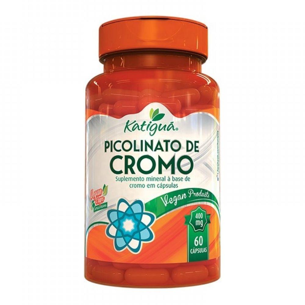 Picolinato de Cromo - 60 Cápsulas - Katiguá
