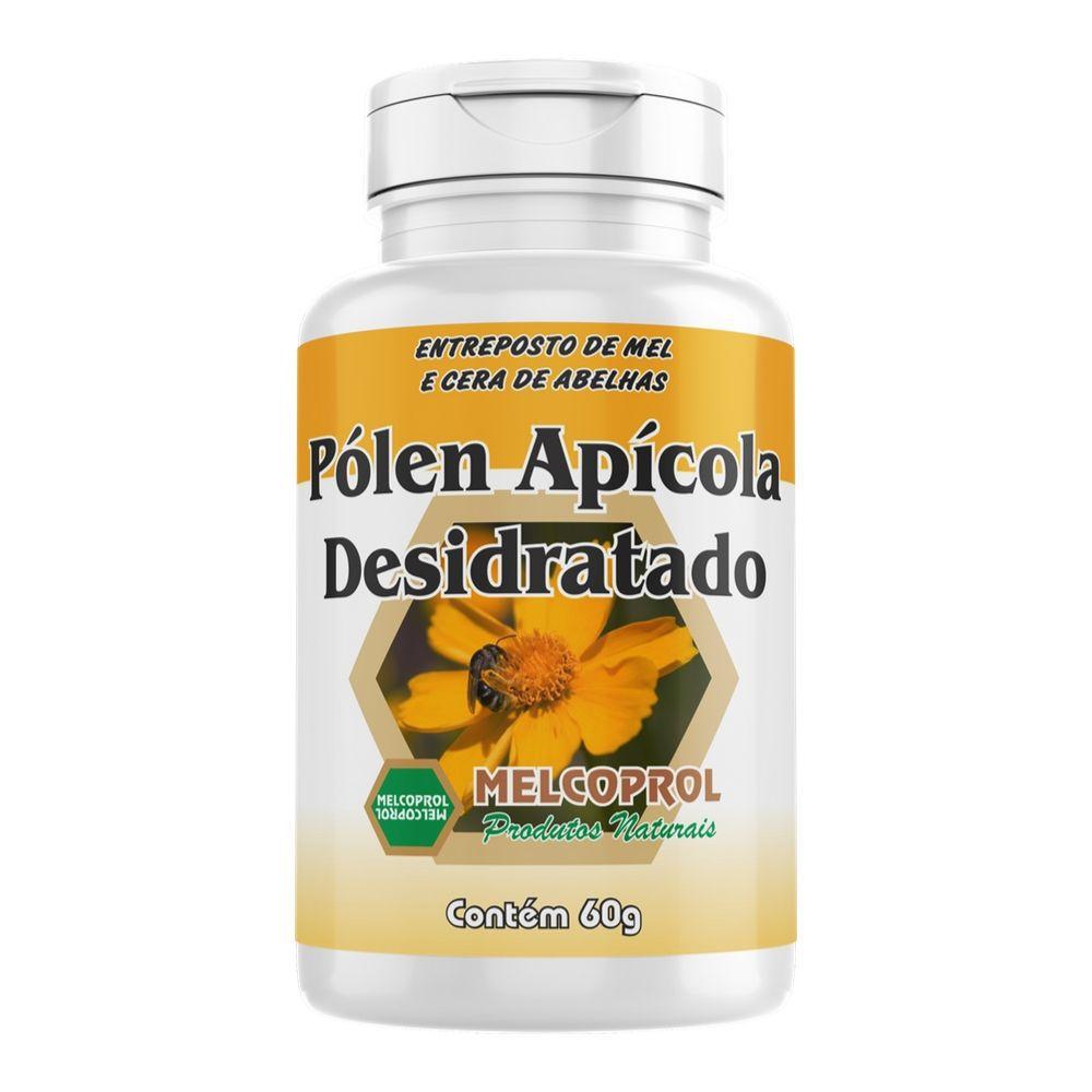 Pólen Apícola Desidratado - 60g -  Melcoprol
