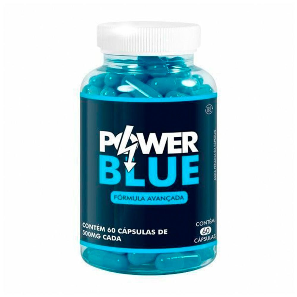 Power Blue - 60 Cáps. - 500mg - VICAZ