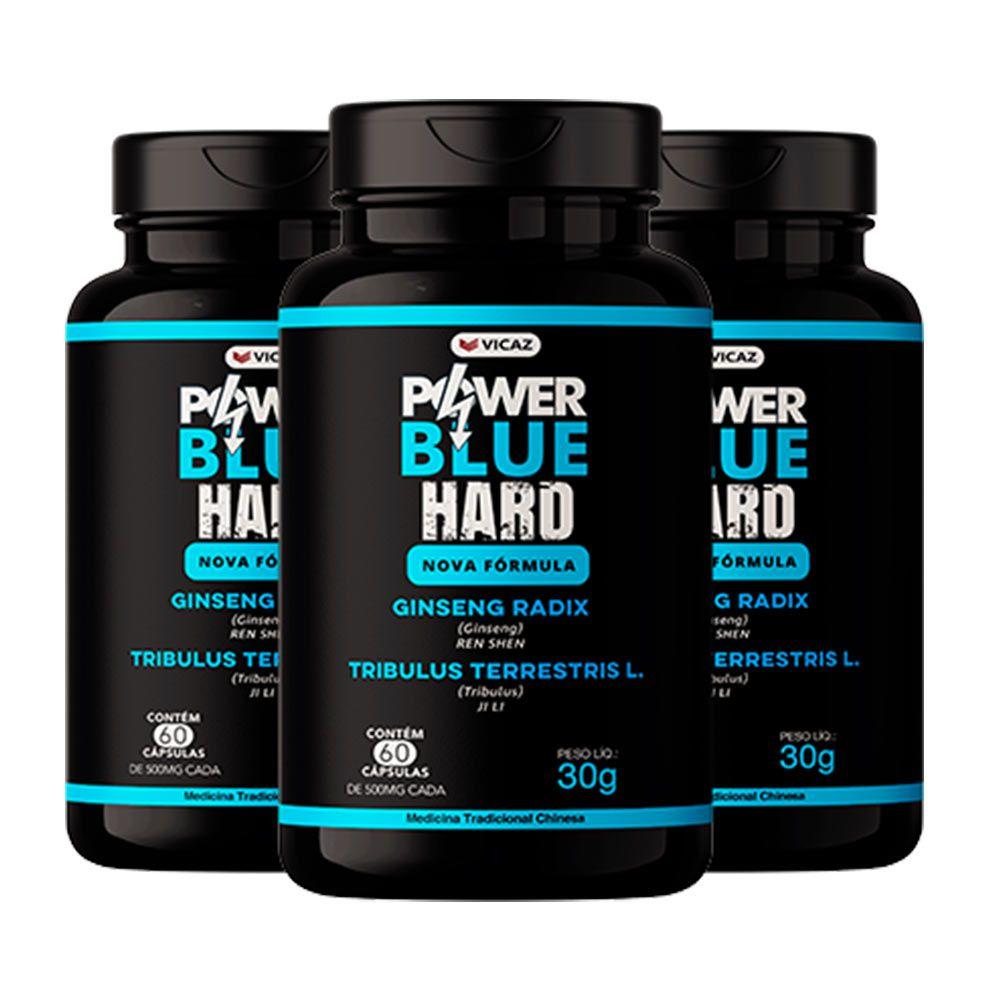 Power Blue Hard - Promoção 3 Unidades - VICAZ