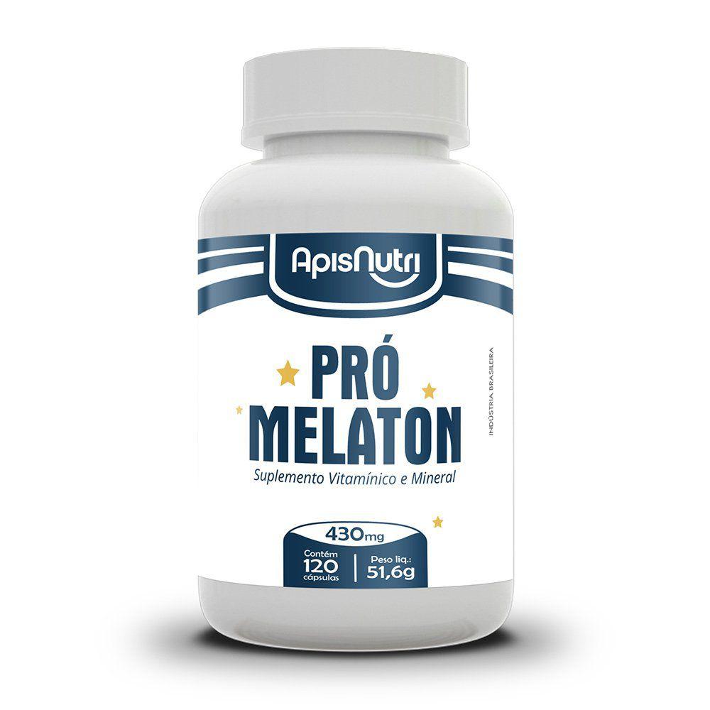 Pró Melaton - 120 Cápsulas. - Apisnutri