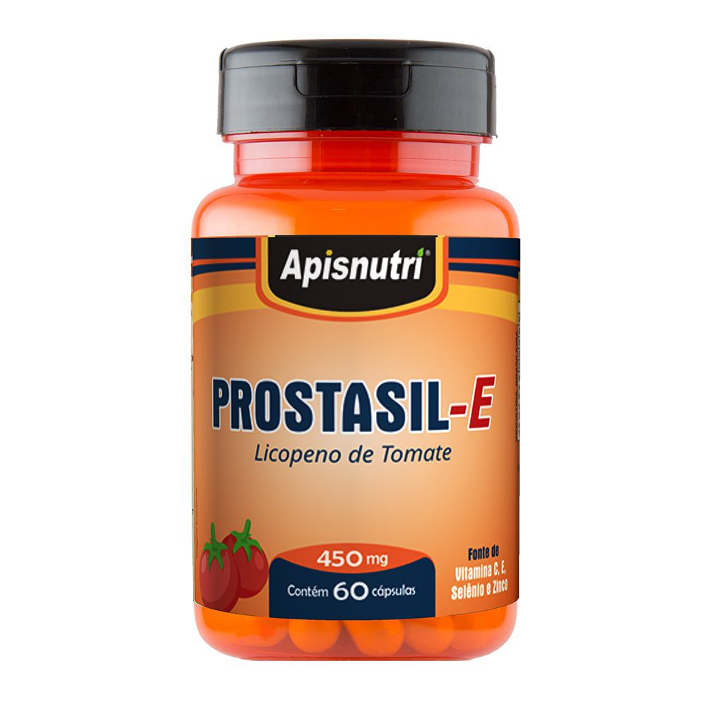 Licopeno de Tomate (Prostasil E) - 60 Cápsulas - Apisnutri