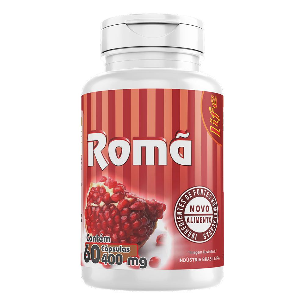 Romã - 60 Cápsulas - Melcoprol
