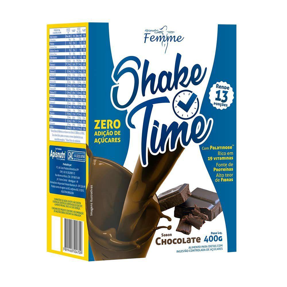 Shake Time - Chocolate - 400g - Apisnutri