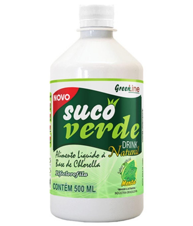 Suco Verde - Lifeclorofila - Green Line - 500ML - Melcoprol