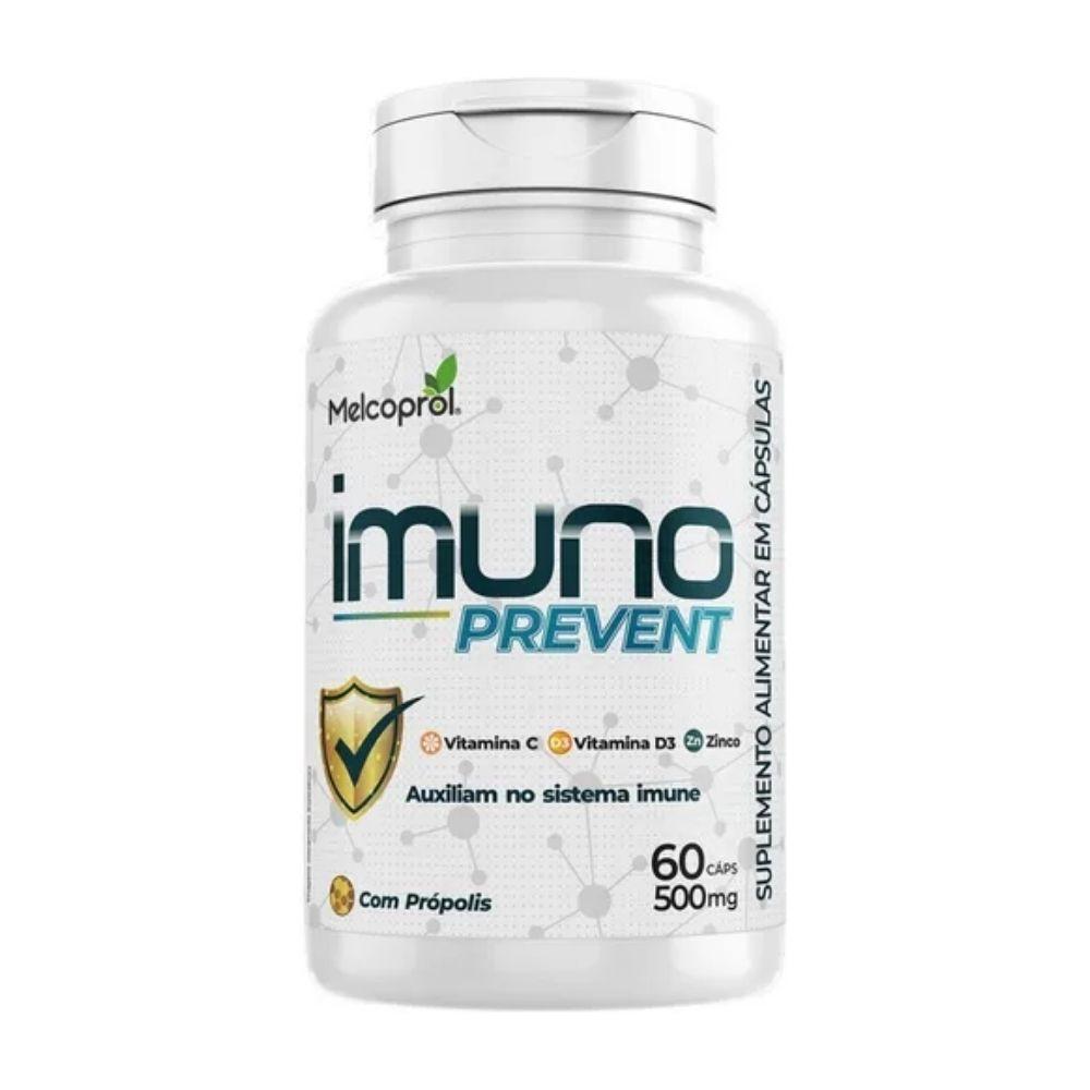 Suplemento vitamínico - Imuno Prevent - 60 Cápsulas - Melcoprol