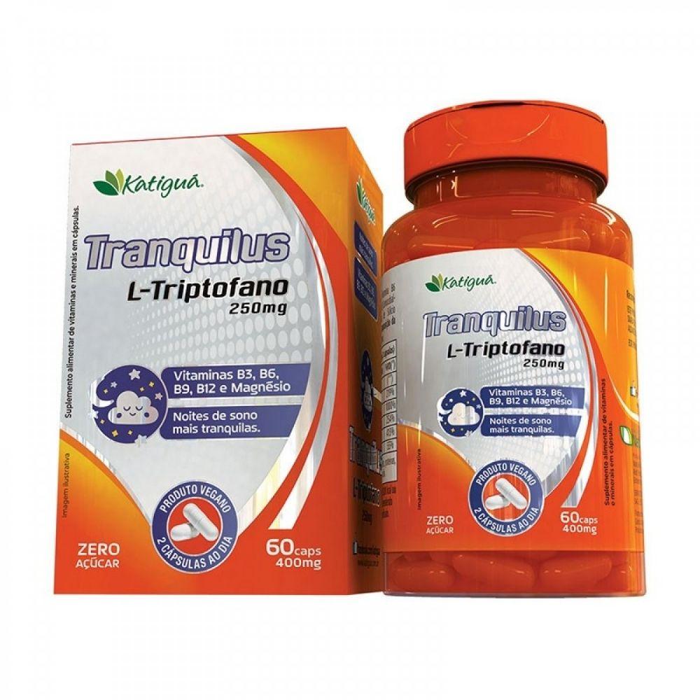 Tranquilus L-Triptofano - 60 Cápsulas - Katiguá