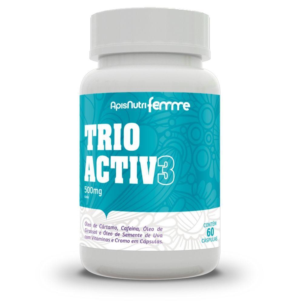 Trio Activ 3 - 60 Cáps. - 500mg - Apisnutri