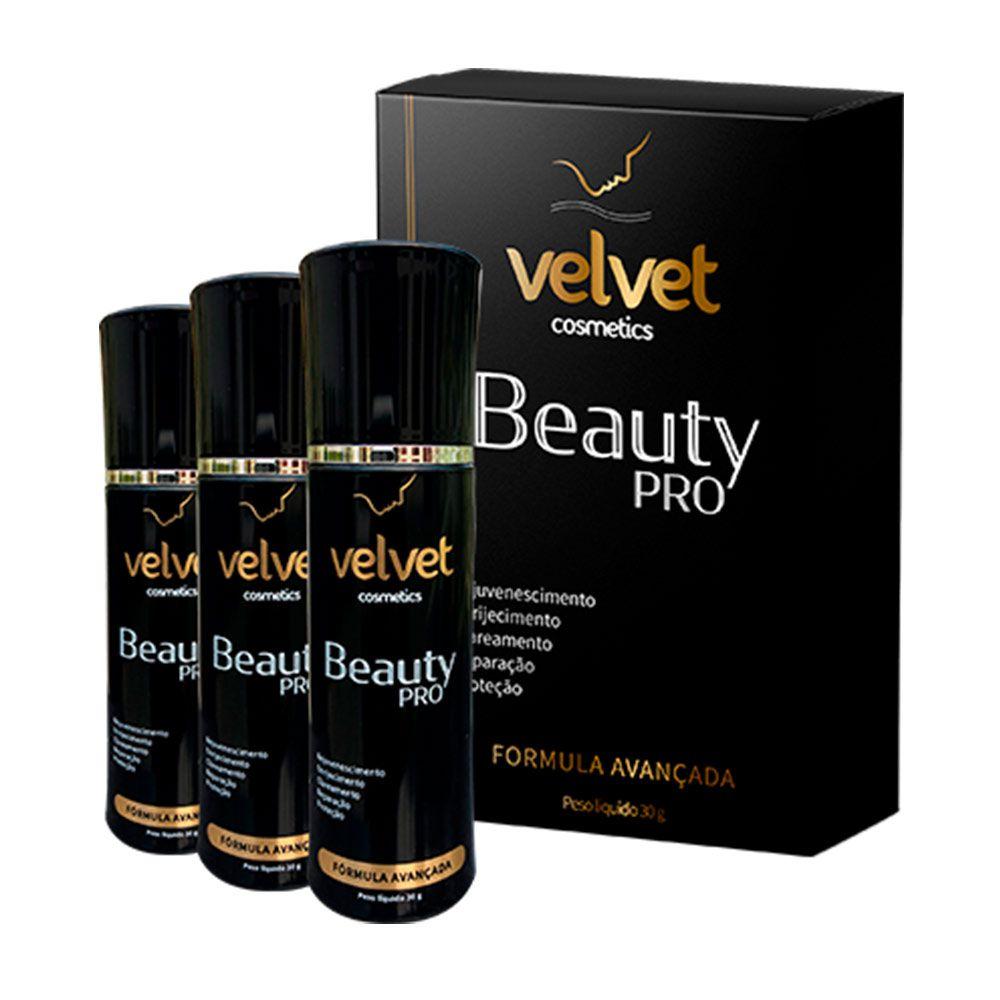 Velvet Beauty Pro - Promoção 3 Unidades - Vicaz
