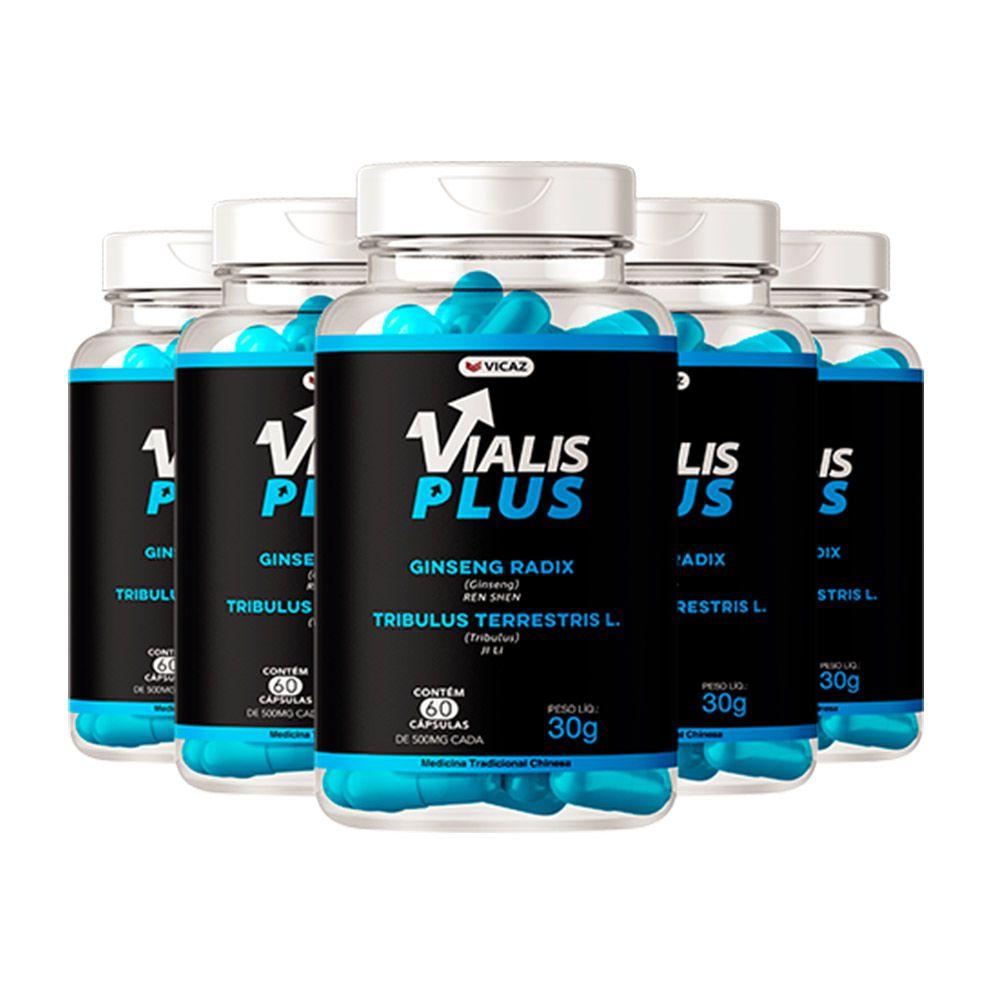 Vialis Plus - Promoção 5 Unidades - VICAZ