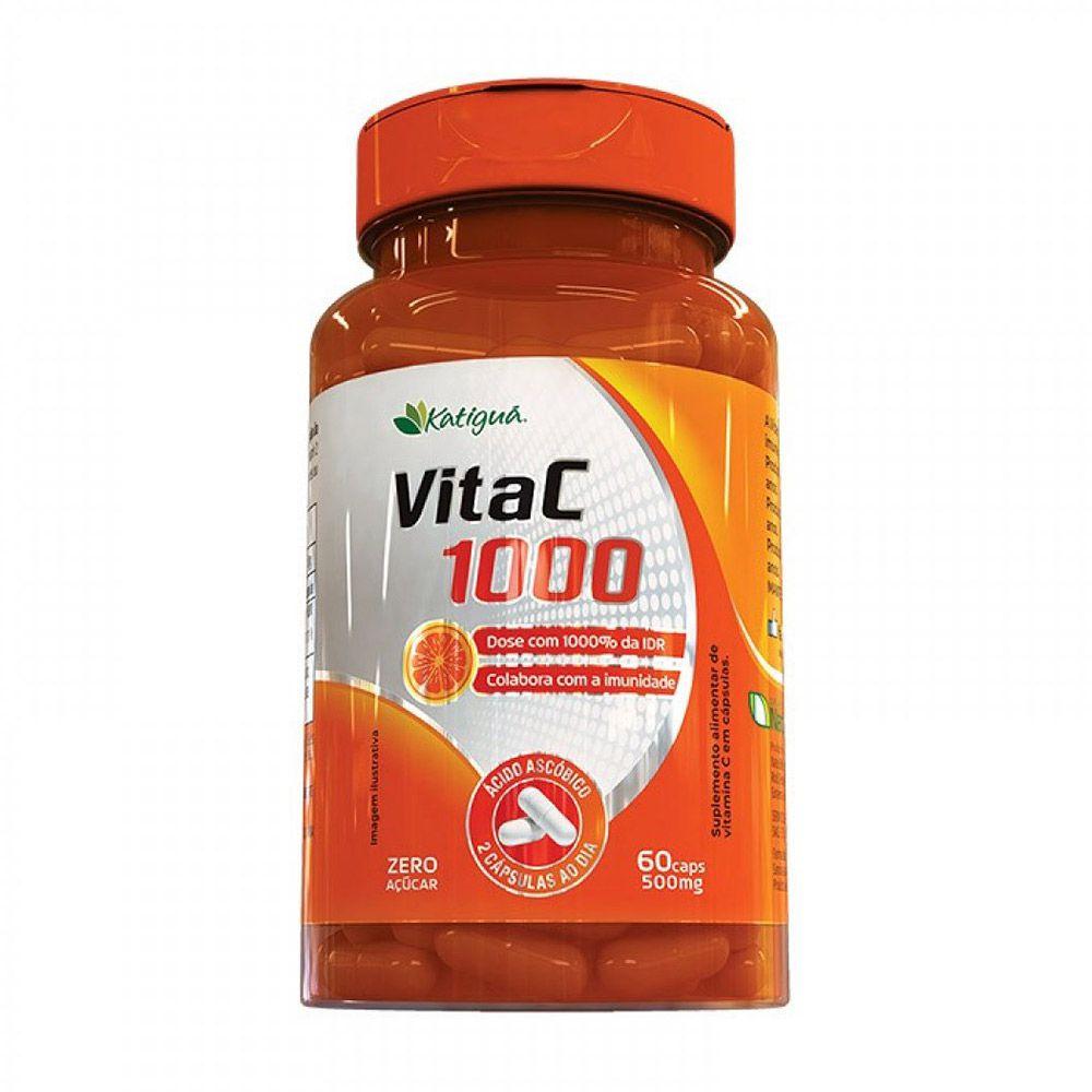 Vitac 1000 - 60 Cápsulas - Katiguá