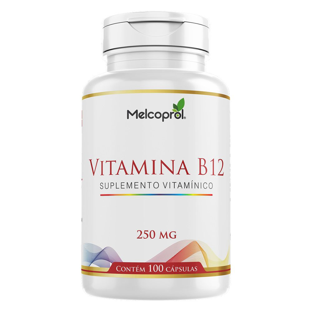 Vitamina B12 - 100 Cáps. - 250mg -Melcoprol