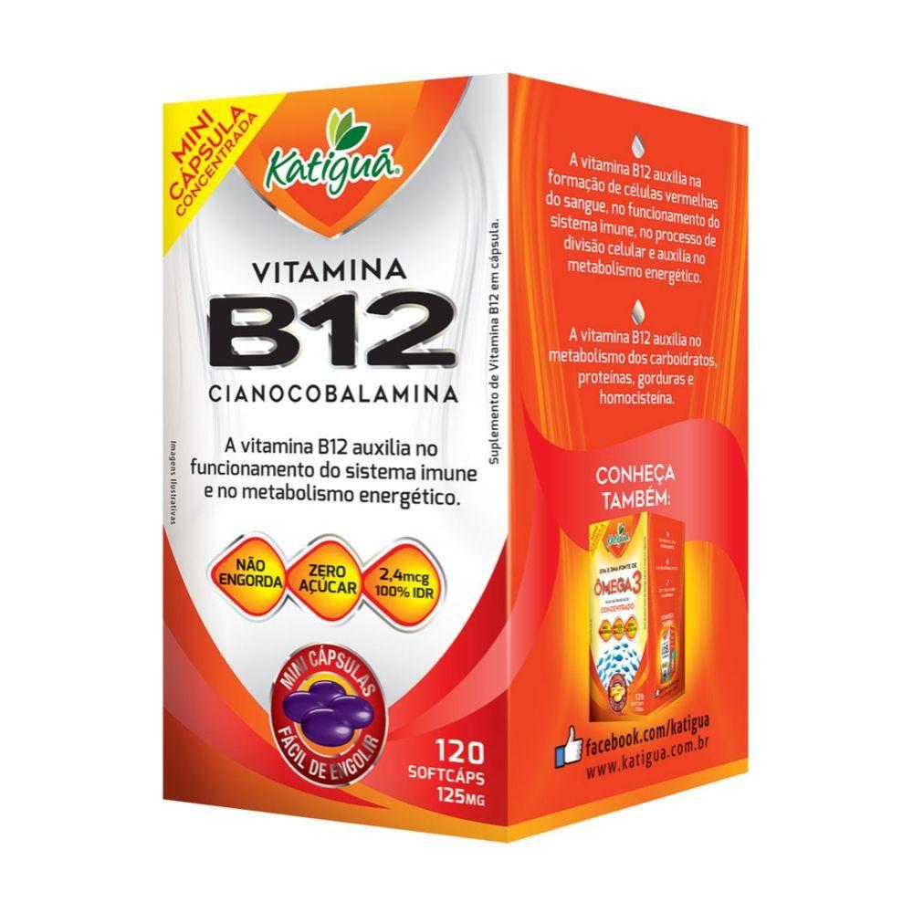 Vitamina B12 - 120 Cápsulas  - Katiguá