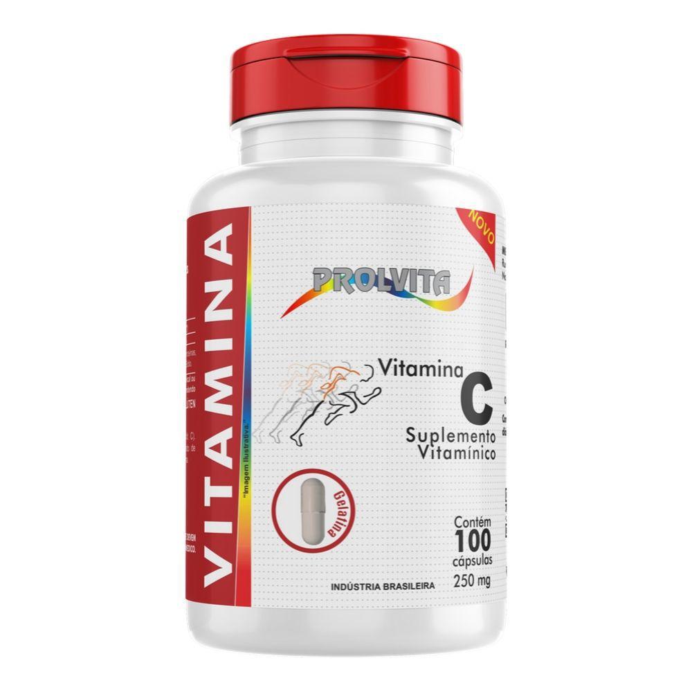 Vitamina C - 100 Cápsulas - Melcoprol