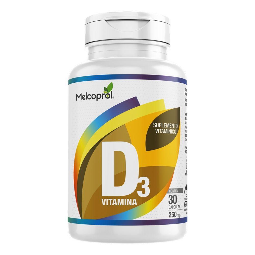 Vitamina D3 - 30 Cápsulas - Melcoprol