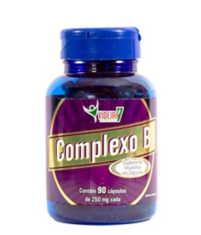 Vitaminas do  Complexo B - 90 Cápsulas - Videira 7