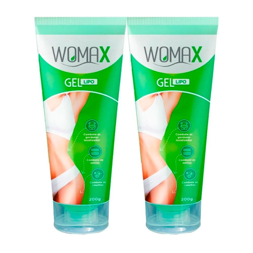 Womax Gel Lipo - Promoção 2 Unidades - VICAZ