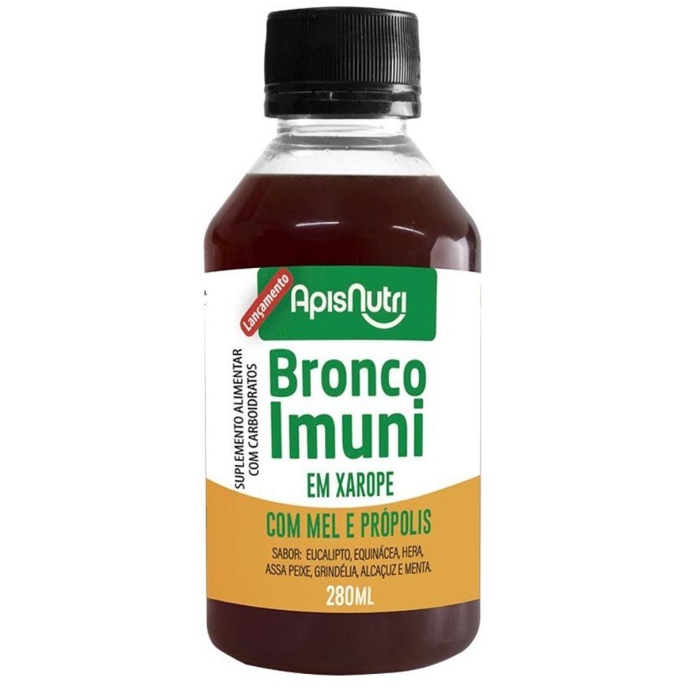 Xarope com Mel e Própolis - Bronco Imune - 280ml - Apisnutri