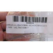 ARRUELA LISA COBRE VEDACAO M18 X 22 X 1,5MM - VALTRA