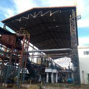 BARRACÃO DE MOENDA 54M X 12M X 18M