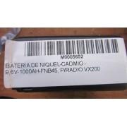 BATERIA DE NIQUEL-CADMIO - 9,6V-1000AH-FNB45, P/RADIO VX200