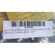 BICO P/ENCHER PNEUS, C/TRAVA SIMPLES TIPO ESPIGAO, P/MANGUEIRA - 5/16