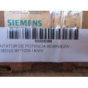 CONTATOR DE POTENCIA BOBINA 220V - SIEMENS 3RT1056-1AN10