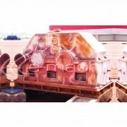 REDUTOR ZANINI POTÊNCIA DE CATÁLOGO 1500HP  F S  1 7  POTÊNCIA EFETIVA 880HP  FATOR DE REDUÇÃO 1 18