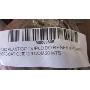 TUBO PLASTICO DUPLO DO RESERVATORIO - HERBICAT CJT0129 COM 20 MTS